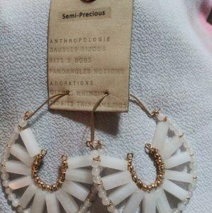 Anthropologie semi-precious earrings